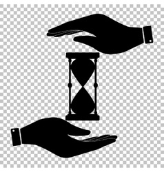 Protect symbol on the transparent background vector