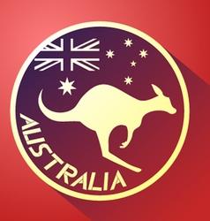 Nice australia icon vector