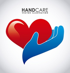 hand care design vector image