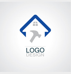 home repaire logo vector image