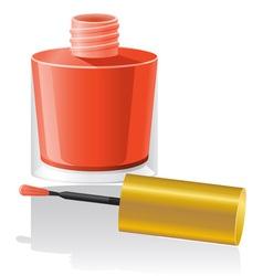 nail polish 01 vector image vector image