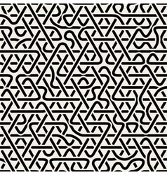 Seamles Triangle Overlapping Line Pattern vector image