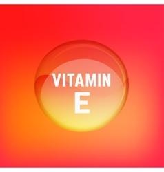 Vitamin E 02 A vector image vector image