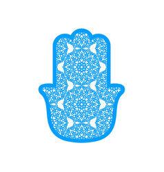 Laser cutting template hams vector