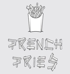 French fries1 resize vector