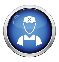 Car mechanic icon vector image vector image