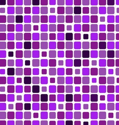 Mosaic with square violet background vector image vector image