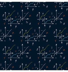 Seamless pattern with elements of geometry and vector image vector image