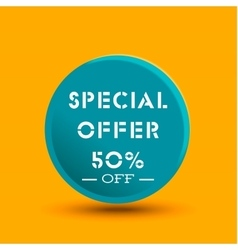 Special offer icon vector