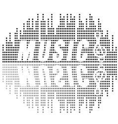 Music and sound vector