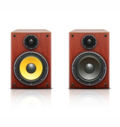 Sound loud hi-fi audio system vector