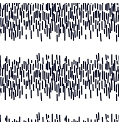 Hand drawn seamless indigo dashed line texture vector