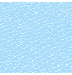 Wavy mosaic pattern - seamless background vector