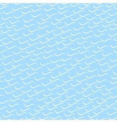 Wavy mosaic pattern - seamless background vector