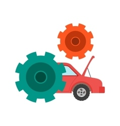 Car settings vector