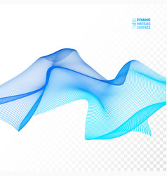wave background ripple grid abstract vector image