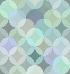 circle Seamless pattern wallpaper vector image