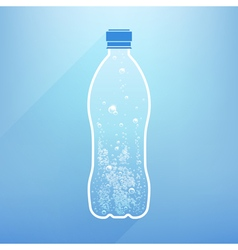 Bottle water vector