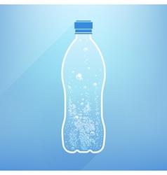 Bottle Water vector image vector image
