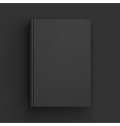 Blank book textbook booklet or notebook mockup vector