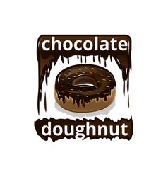 Deli doughnut vector