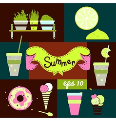Set summer vector