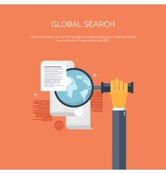 Web search flat computing vector
