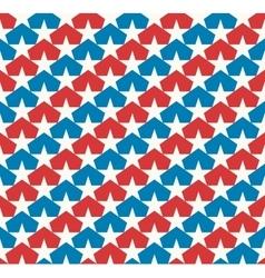 American stars flag vector image