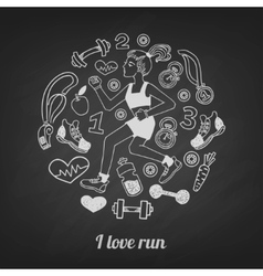Run set vector