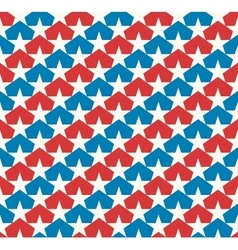 American stars flag vector image vector image