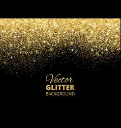 falling glitter confetti vector image