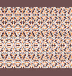 Hexagonal geometric pattern vector