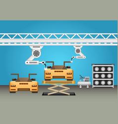 Robot car vector