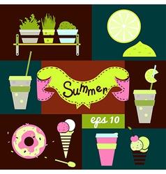 Set summer vector