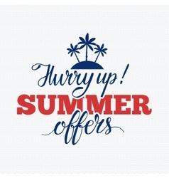 Summer sale badge vector image vector image