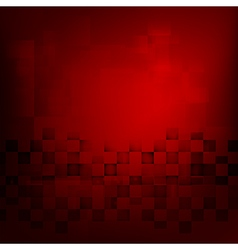 Abstract background red with basic geometry vector