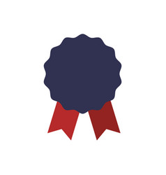 Award ribbon empty vector