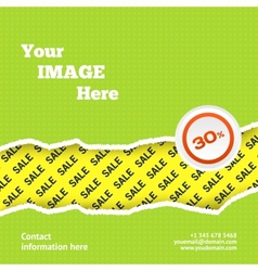 Sale design background vector