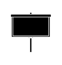 Blank board presentation vector
