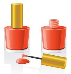 nail polish 02 vector image vector image