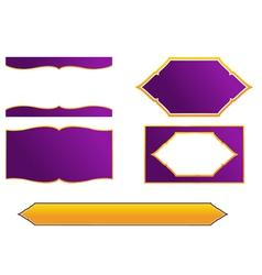 Thai frame and border style vector