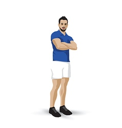 training pose vector image