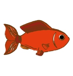 Fish icon image vector