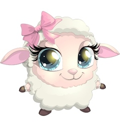 Little sheep vector
