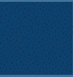 Awesome seamless pattern with raindrops vector