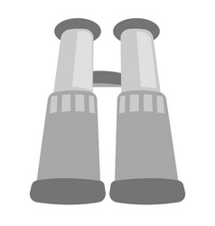 binoculars cartoon vector image