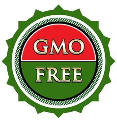 Gmo free label vector