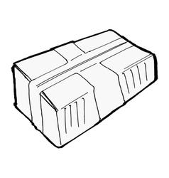 parcel vector image vector image