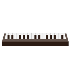 piano keyboard cartoon vector image