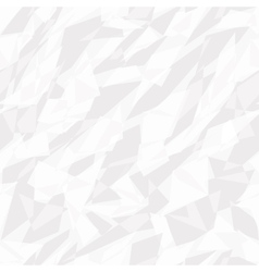 seamless texture of white crumpled paper vector image